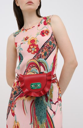 Женская поясная сумка REDVALENTINO красного цвета, арт. UQ2B0B87/VFV | Фото 2