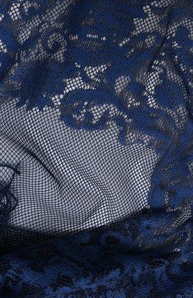 Женская хлопковая шаль valentino garavani VALENTINO синего цвета, арт. UW2EB105/IAF | Фото 2
