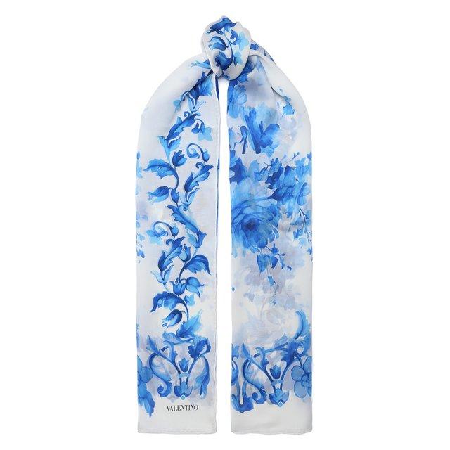 Шелковый шарф Valentino Garavani Valentino