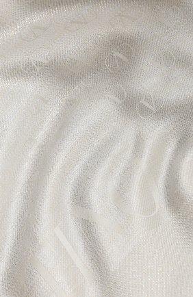 Мужские шарф valentino garavani VALENTINO кремвого цвета, арт. UW2ED007/USS   Фото 2