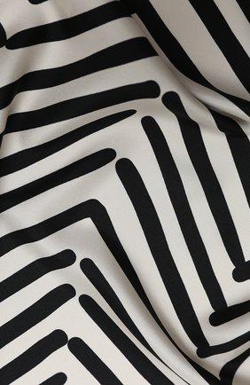 Женский шелковый платок valentino garavani VALENTINO белого цвета, арт. UW2EI114/XJF | Фото 2