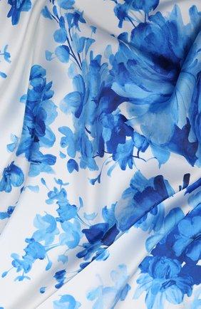 Женский шелковый платок valentino garavani VALENTINO кремвого цвета, арт. UW2EI114/ZPJ | Фото 2