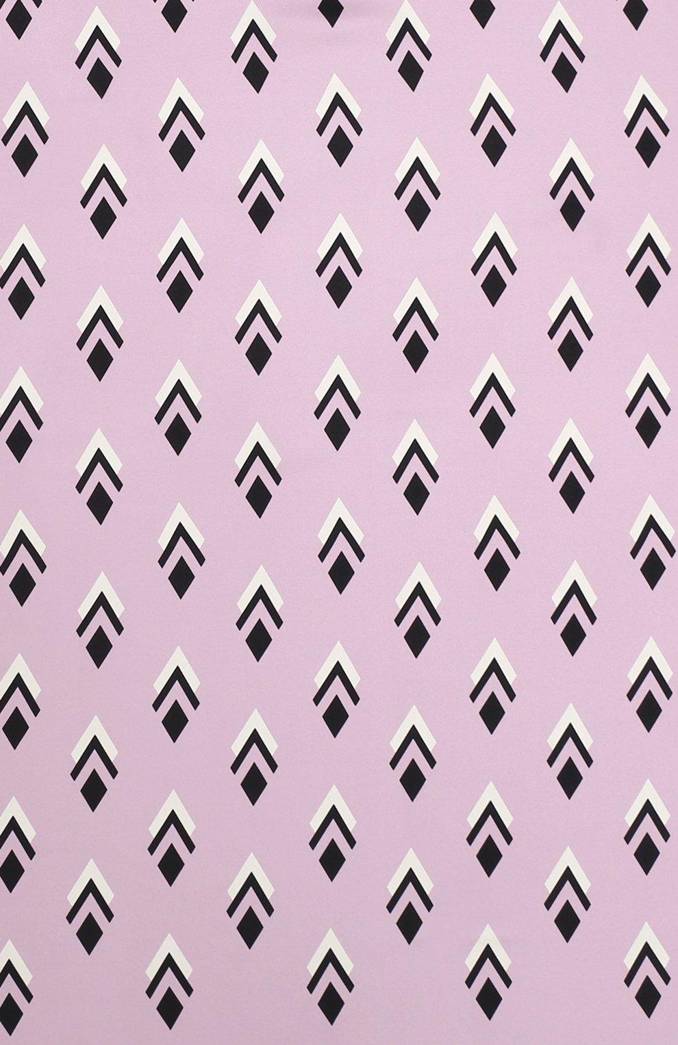 Женский шелковая шаль valentino garavani VALENTINO розового цвета, арт. UW2EB104/FHJ | Фото 3