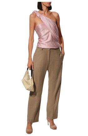 Мужские шарф valentino garavani VALENTINO светло-розового цвета, арт. UW2ED007/USS | Фото 2