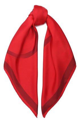 Женский шелковый платок valentino garavani VALENTINO красного цвета, арт. UW2EI114/QZW | Фото 1