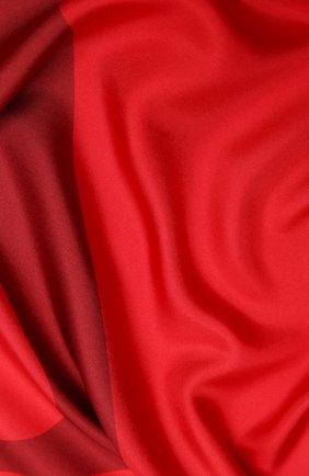Женский шелковый платок valentino garavani VALENTINO красного цвета, арт. UW2EI114/QZW | Фото 2