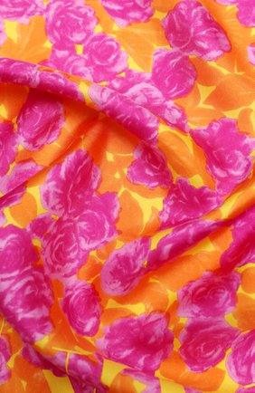 Женский шелковый платок valentino garavani VALENTINO оранжевого цвета, арт. UW2EI114/WBH | Фото 2