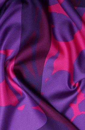 Женский шелковый платок valentino garavani VALENTINO фуксия цвета, арт. UW2EI114/KNA | Фото 2