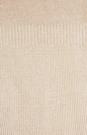 Женские хлопковые подследники step invisible FALKE бежевого цвета, арт. 47577_   Фото 2