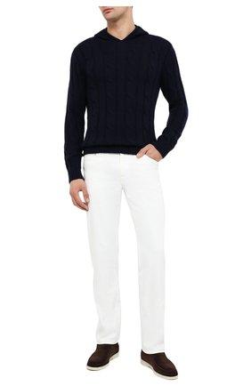 Мужской кашемировый свитер RALPH LAUREN темно-синего цвета, арт. 790706393 | Фото 2