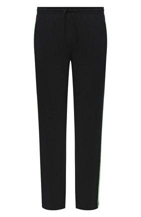 Мужской хлопковые брюки DIRK BIKKEMBERGS черного цвета, арт. VBKT04856 | Фото 1