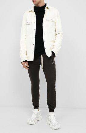 Мужской кашемировый свитер RICK OWENS черного цвета, арт. RU20F3682/WSBR | Фото 2