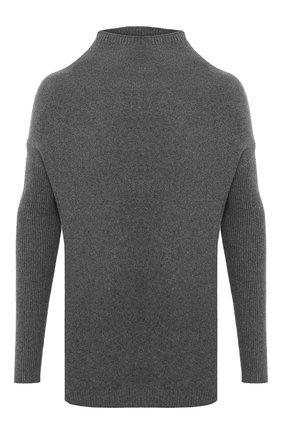 Мужской кашемировый свитер RICK OWENS серого цвета, арт. RU20F3682/WSBR | Фото 1