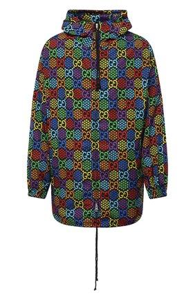 Мужская куртка gg psychedelic GUCCI разноцветного цвета, арт. 601712/ZADGN | Фото 1