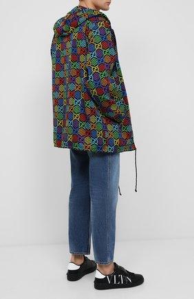 Мужская куртка gg psychedelic GUCCI разноцветного цвета, арт. 601712/ZADGN | Фото 2