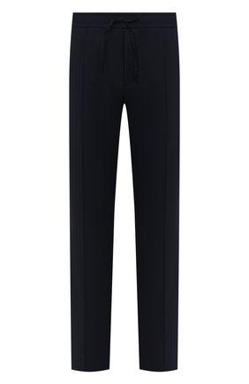 Мужской шерстяные брюки VALENTINO синего цвета, арт. UV3RB52225S | Фото 1