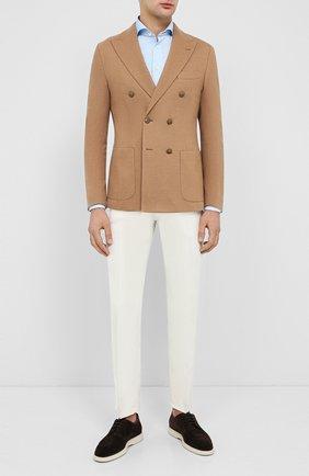 Мужской шерстяной пиджак ELEVENTY PLATINUM бежевого цвета, арт. B75GIAB02 TES0B041   Фото 2