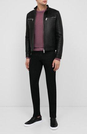 Мужская кожаная куртка ELEVENTY PLATINUM черного цвета, арт. B75GBTB18 PEL0B001 | Фото 2