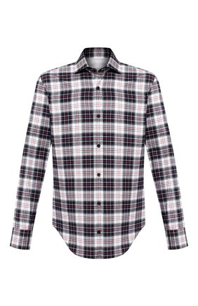 Мужская хлопковая рубашка ELEVENTY PLATINUM темно-синего цвета, арт. B75CAMA18 TES0B077 | Фото 1