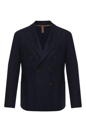 Мужской шерстяной пиджак ELEVENTY темно-синего цвета, арт. B70GIAA02 JAC24018 | Фото 1