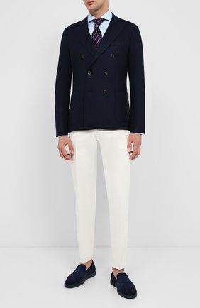 Мужской шерстяной пиджак ELEVENTY темно-синего цвета, арт. B70GIAA02 JAC24018 | Фото 2