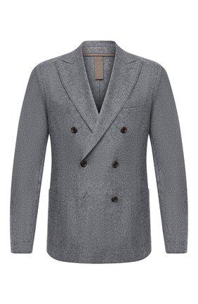 Мужской шерстяной пиджак ELEVENTY серого цвета, арт. B70GIAA02 JAC24018 | Фото 1