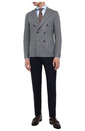 Мужской шерстяной пиджак ELEVENTY серого цвета, арт. B70GIAA02 JAC24018 | Фото 2