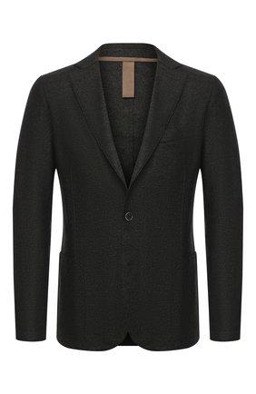 Мужской шерстяной пиджак ELEVENTY темно-зеленого цвета, арт. B70GIAA01 TES0B118   Фото 1