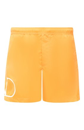 Детского плавки-шорты  VALENTINO оранжевого цвета, арт. UV3UHA106GJ | Фото 1