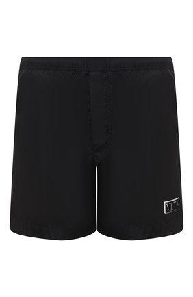 Детского плавки-шорты  VALENTINO черного цвета, арт. UV3UH0286FN | Фото 1