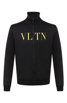 Мужская толстовка VALENTINO черного цвета, арт. UV3MF14G6KP | Фото 1