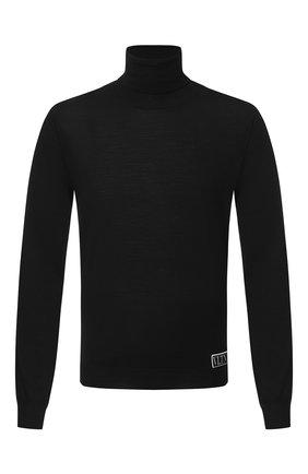 Мужской шерстяная водолазка VALENTINO черного цвета, арт. UV3KC09N6KR | Фото 1