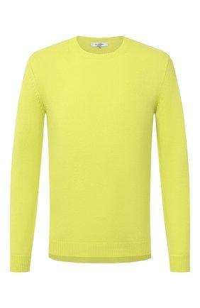 Мужской кашемировый свитер VALENTINO желтого цвета, арт. UV3KC03K5FB | Фото 1