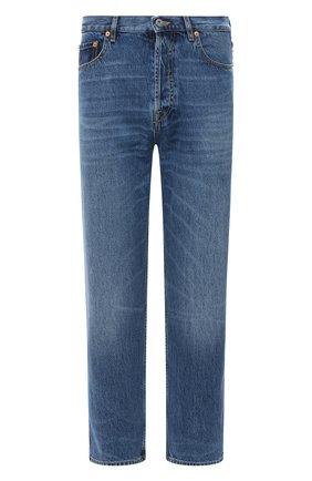 Мужские джинсы VALENTINO синего цвета, арт. UV3DE05Y6H6 | Фото 1