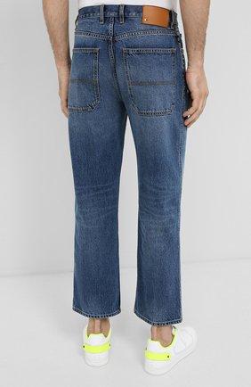 Мужские джинсы VALENTINO синего цвета, арт. UV3DE05Y6H6 | Фото 4