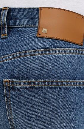 Мужские джинсы VALENTINO синего цвета, арт. UV3DE05Y6H6 | Фото 5