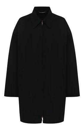 Мужской шерстяное пальто VALENTINO черного цвета, арт. UV3CAH852KA | Фото 1