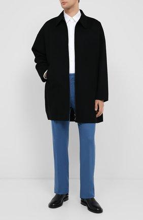 Мужской шерстяное пальто VALENTINO черного цвета, арт. UV3CAH852KA | Фото 2