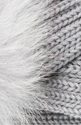 Детская шерстяная повязка CATYA серого цвета, арт. 024820 | Фото 3
