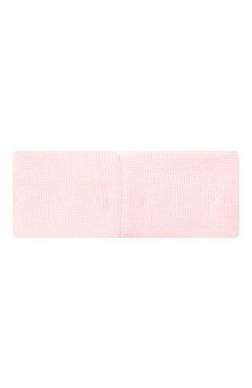Детская шерстяная повязка CATYA розового цвета, арт. 024816 | Фото 2