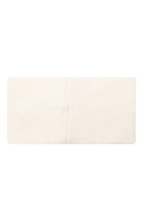 Детская шерстяная повязка CATYA белого цвета, арт. 024815/G | Фото 2