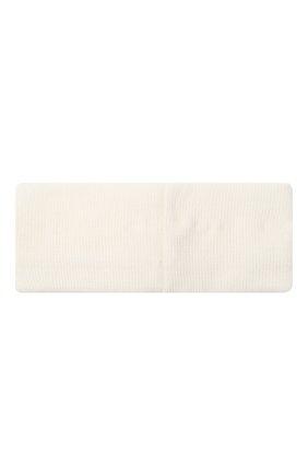 Детская шерстяная повязка CATYA белого цвета, арт. 024815 | Фото 2