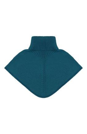 Детский шерстяной шарф-воротник CATYA зеленого цвета, арт. 024792/2 | Фото 2