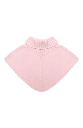 Детский шерстяной шарф-воротник CATYA розового цвета, арт. 024792 | Фото 2