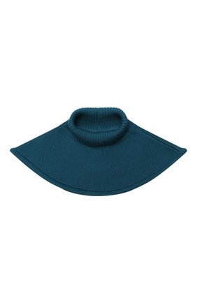 Детский шерстяной шарф-воротник CATYA зеленого цвета, арт. 024791/1 | Фото 1