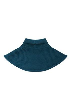 Детский шерстяной шарф-воротник CATYA зеленого цвета, арт. 024791/1 | Фото 2