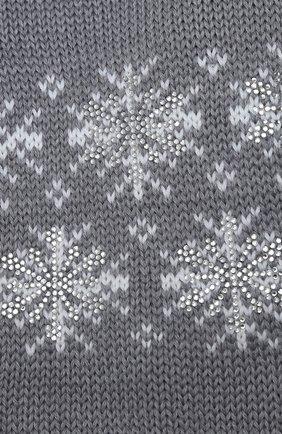 Детский шерстяной шарф CATYA серого цвета, арт. 024773 | Фото 2