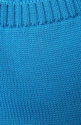Детский шерстяной шарф-снуд CATYA голубого цвета, арт. 024755   Фото 2
