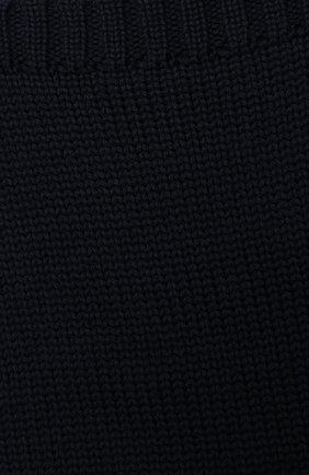 Детский шерстяной шарф-снуд CATYA темно-синего цвета, арт. 024755   Фото 2