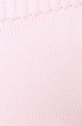 Детский шерстяной шарф-снуд CATYA розового цвета, арт. 024755 | Фото 2
